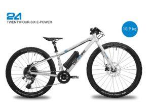 2021 TwentyFourSix E-Power 11,1 kg inkl. Pedale