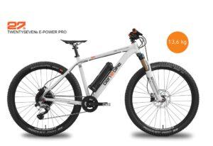 2020/2021 TwentySeven5 E-Power Pro 13,8 kg inkl. Pedale