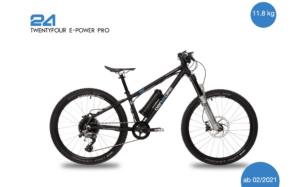 2021 TwentyFour E-Power Pro 12,0 kg inkl. Pedale