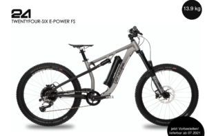 2020/2021 TwentyFour-Six E-Power Pro FS 14,1 kg bis 15,5 kg