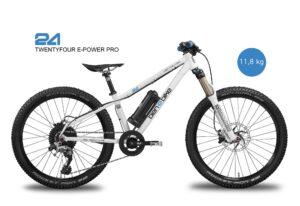2020/2021 TwentyFour E-Power Pro 12,0 kg inkl. Pedale (white)